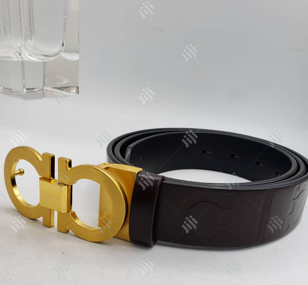 Ferragamo Leather Belt for Unisex
