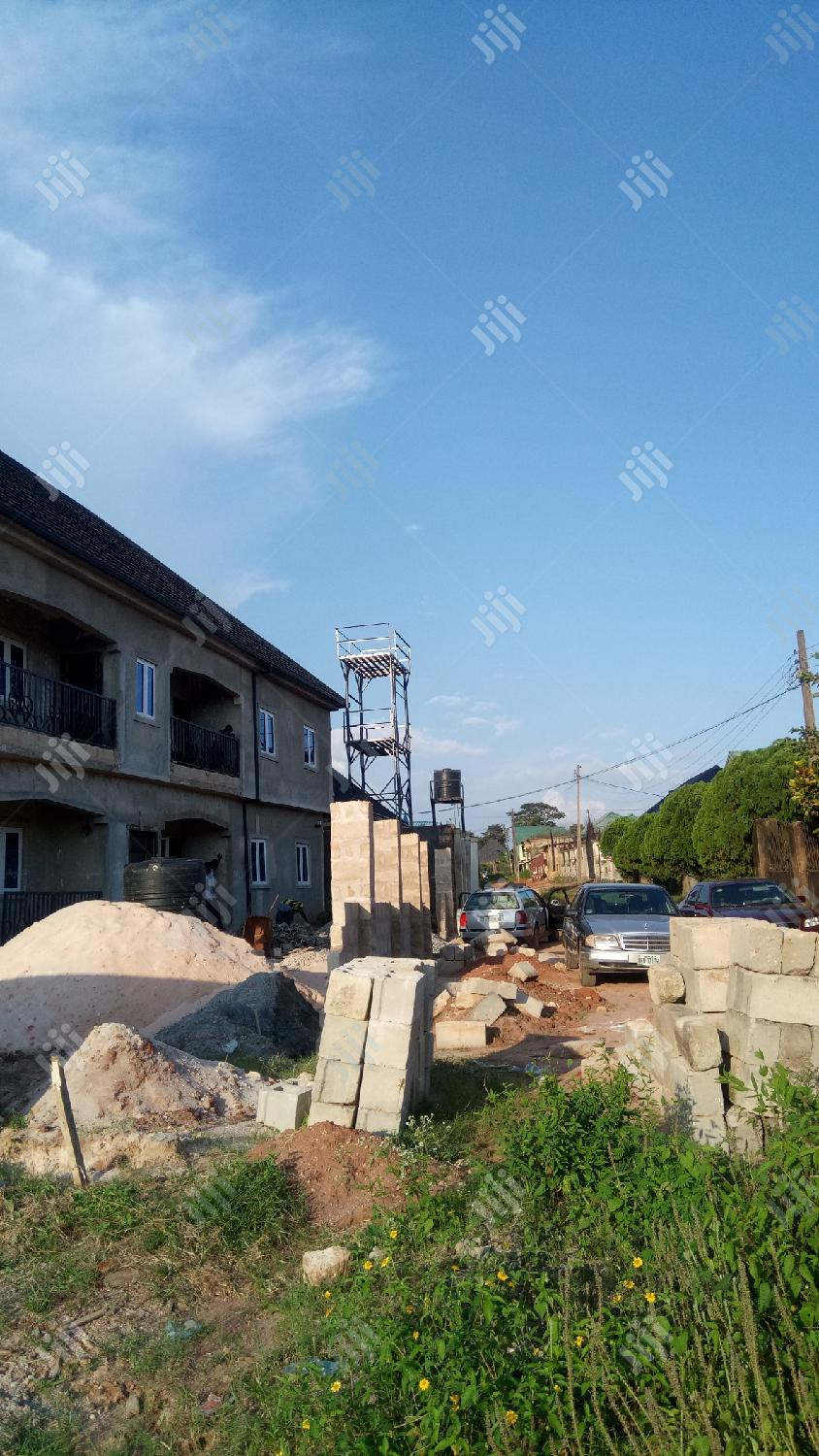 Distress Sale: Proposed 4bedroom Duplex Up to Decking Stage on 100X70