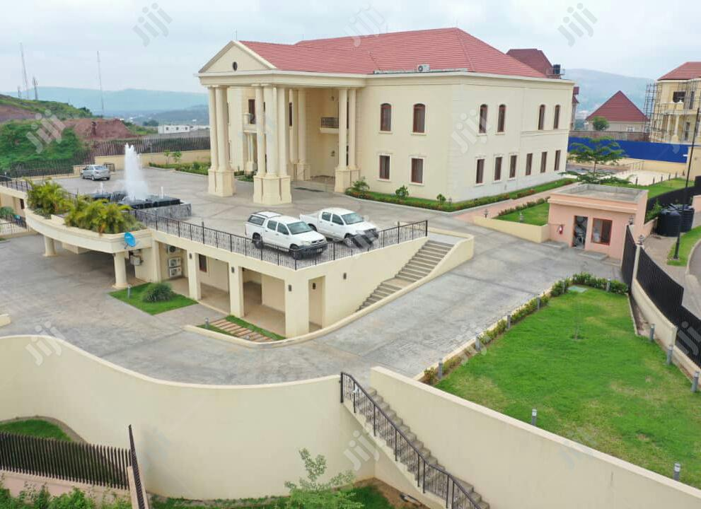 Archive: Hilltop Mansion At Sunrise Hill Estate Asokoro For Sale