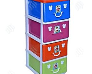 Mixed Colours Detachable Plastic Cabinet Baby Wardrobe | Children's Furniture for sale in Lagos State