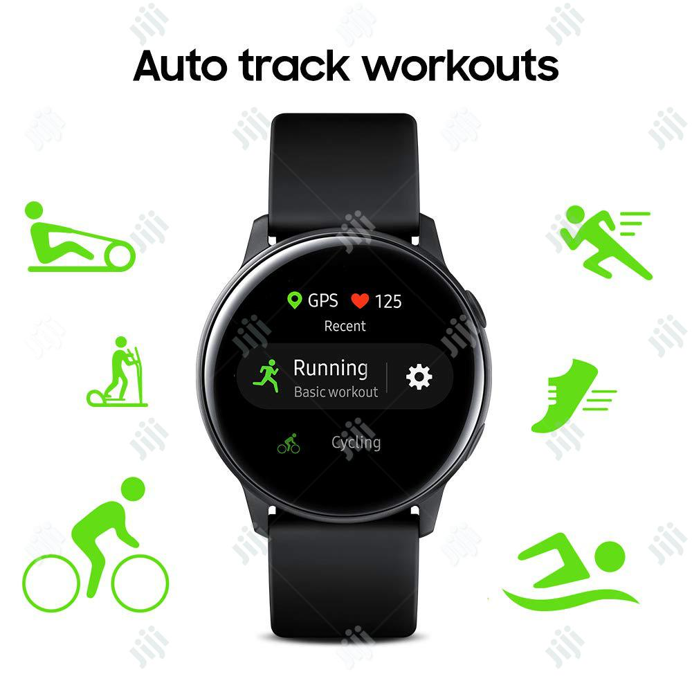 Samsung Galaxy Watch Active 40mm - Black | Smart Watches & Trackers for sale in Ikeja, Lagos State, Nigeria