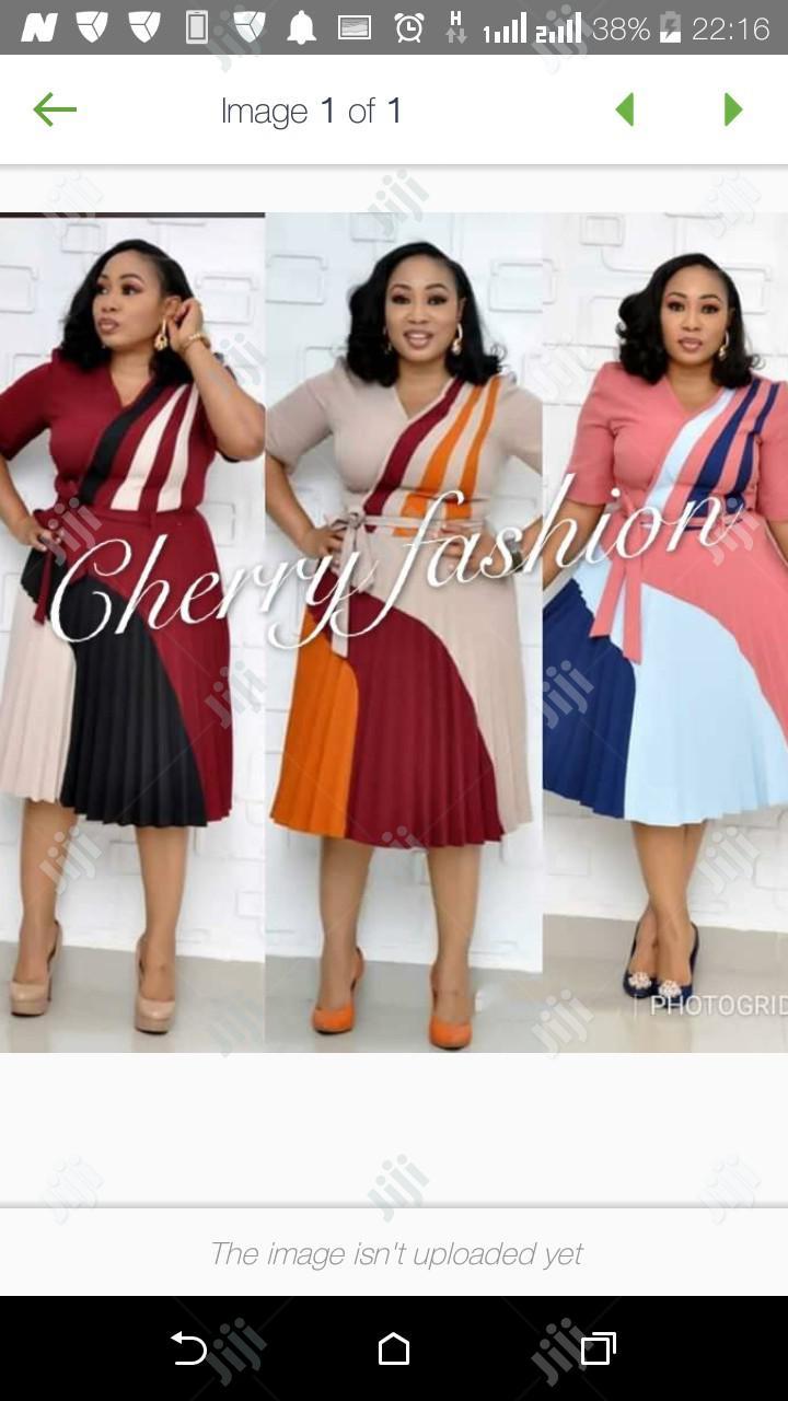 Cherry Fashion Female Gown