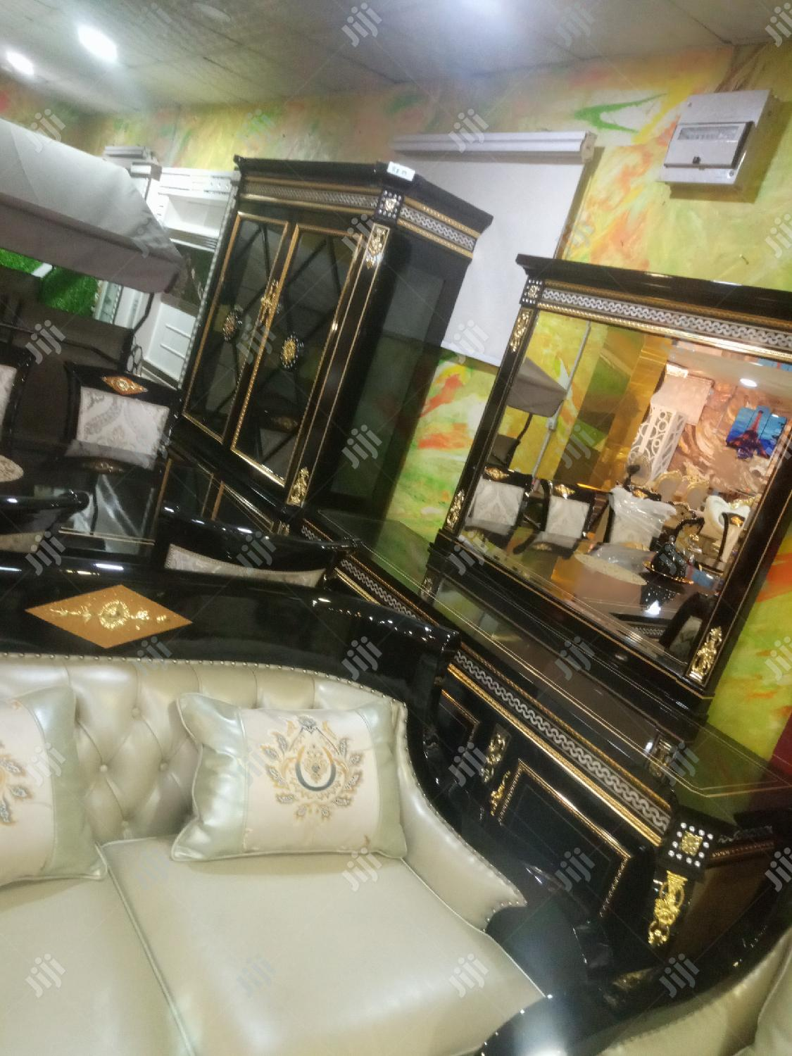 Imported Versace Family Dining Table.With the Full Set of It | Furniture for sale in Lagos State, Nigeria