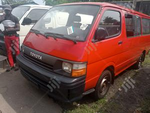 Toyota Hiace Bus 1996 Model Red | Buses & Microbuses for sale in Lagos State, Apapa