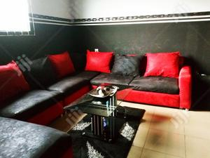 Complete Parlor Chairs Set With Center Table | Furniture for sale in Delta State, Udu