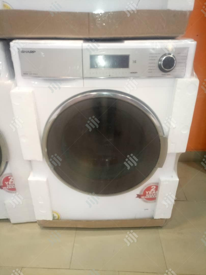 Sharp Wash And Dry 10kg Washing Machine | Manufacturing Equipment for sale in Lagos State, Nigeria