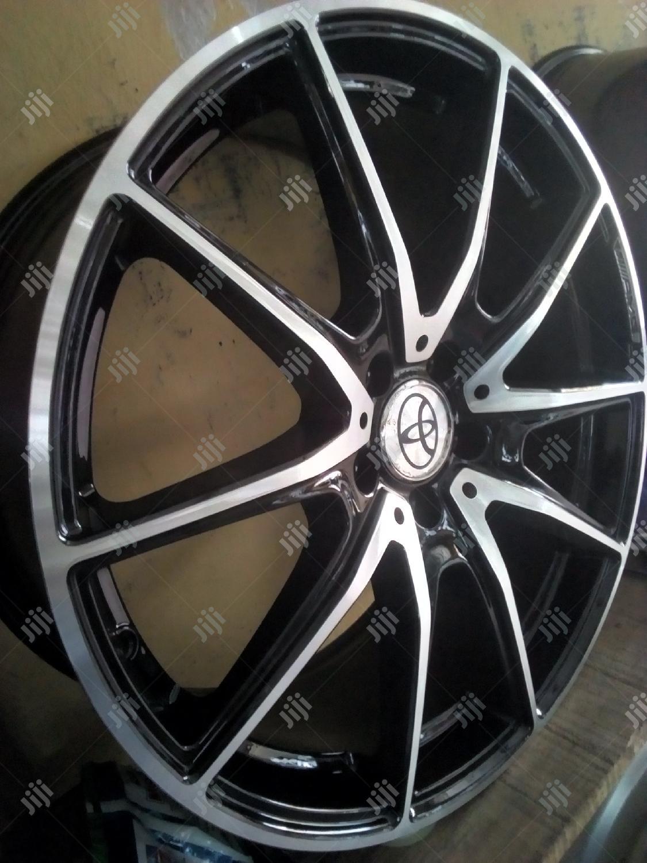 Original Toyota Alloy Wheel..Rim 18 N Rim 20