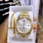 Classic Rolex Time Piece And Classic Bracelet | Jewelry for sale in Lagos State, Lagos Island