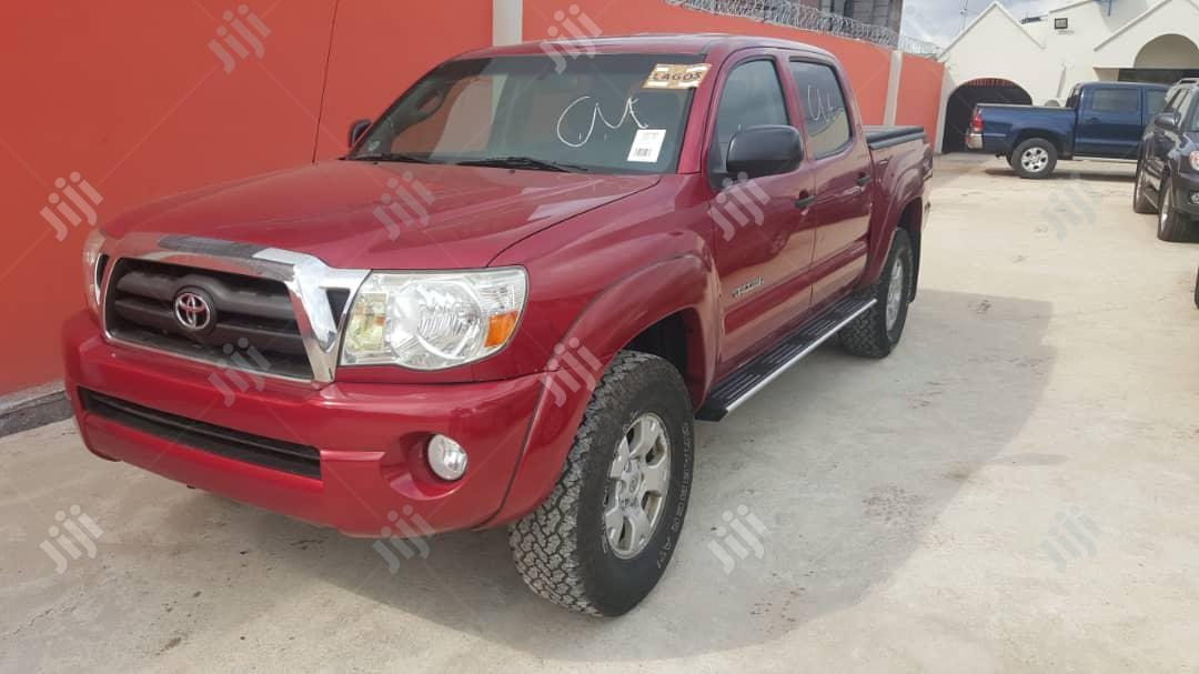 Toyota Tacoma 2007 Red | Cars for sale in Ikeja, Lagos State, Nigeria