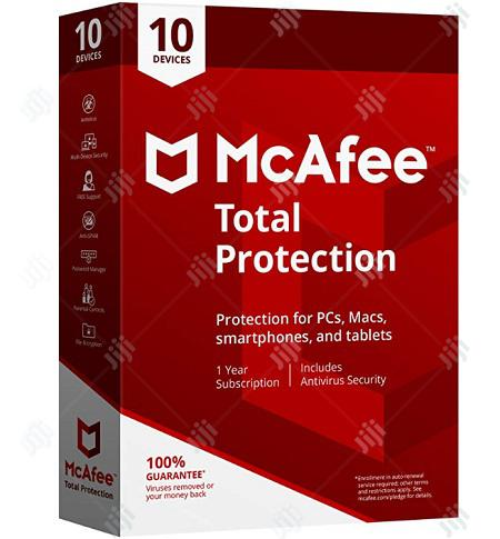 Mcafee Total Protection - 10 Devices 1 Year Subscription