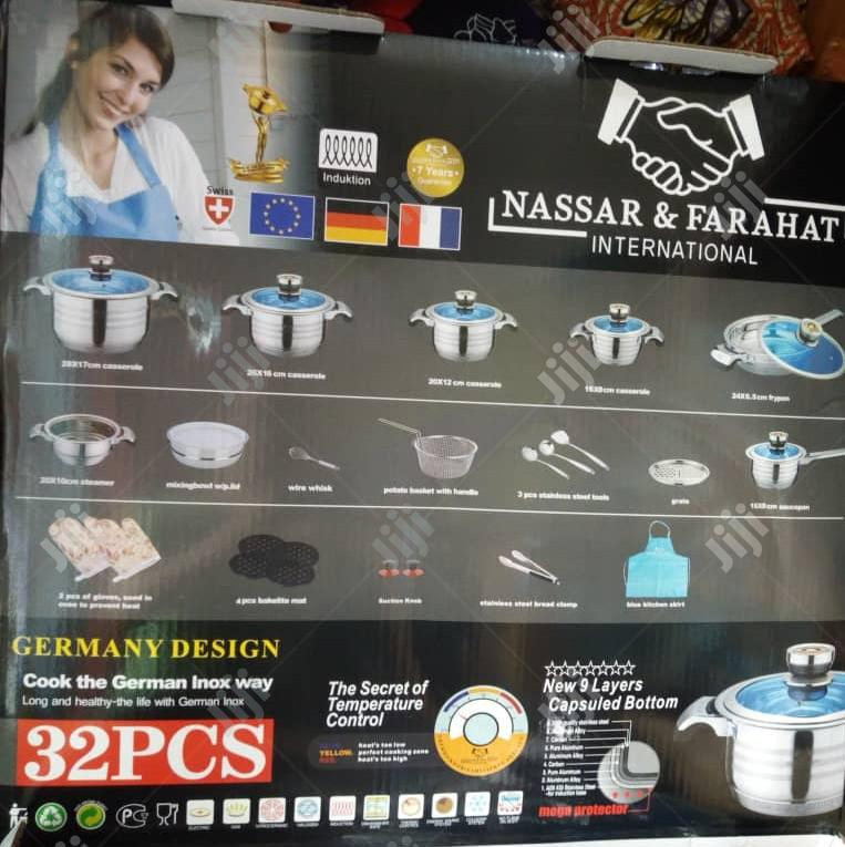 32 Pieces Original Set of Pots | Kitchen & Dining for sale in Yaba, Lagos State, Nigeria