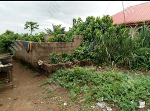 Half Plot of Land With Uncompleted Building for Sale in Ogun State. | Land & Plots For Sale for sale in Ogun State, Ado-Odo/Ota