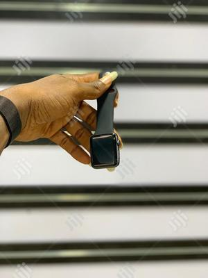 Apple Watch 42MM Series3 Black   Smart Watches & Trackers for sale in Rivers State, Port-Harcourt