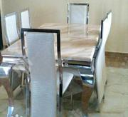 New Great Quality Dining Table With Six Chair | Furniture for sale in Rivers State, Port-Harcourt