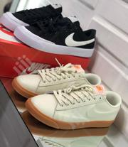 Nike Sb Blazer Zoom White/Brown Sole | Shoes for sale in Lagos State, Victoria Island