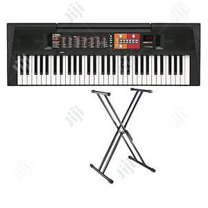 Yamaha PSR - F51 YAMAHA Keyboard Piano With Adaptor Stand | Musical Instruments & Gear for sale in Lagos State, Ojo