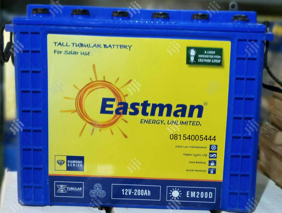 200ah/12v EASTMAN VRLA Battery | Solar Energy for sale in Port-Harcourt, Rivers State, Nigeria