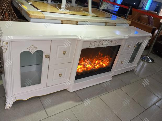 Fire Place T.V Stand