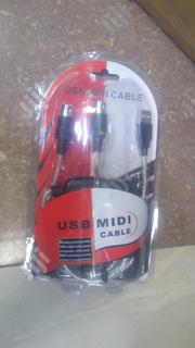 USB Midi Cable | Accessories & Supplies for Electronics for sale in Lagos State, Ojo
