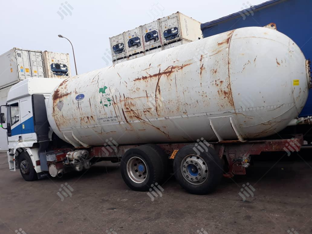 New Arrival Tokunbo 15.4tons LPG Storage Tank 2010