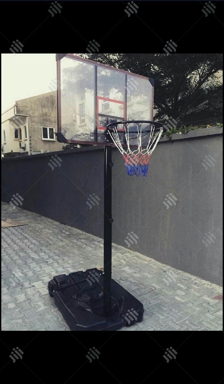 Brand New Basketball Court In Minna Sports Equipment Onyitex Sports Shop Jiji Ng