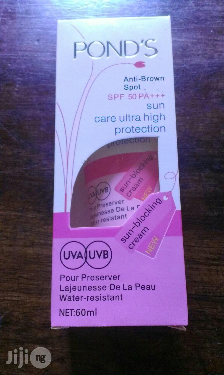 Sunscreen And Sunburn Cream