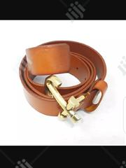 Anchor Leather Belt Brown | Clothing Accessories for sale in Lagos State, Surulere