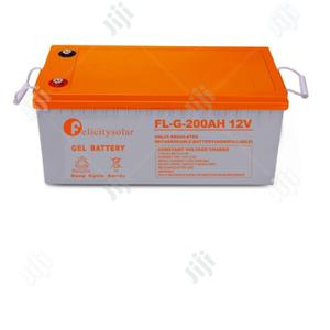 Felicity 200ah 12v Gel Battery.   Solar Energy for sale in Lagos State, Victoria Island