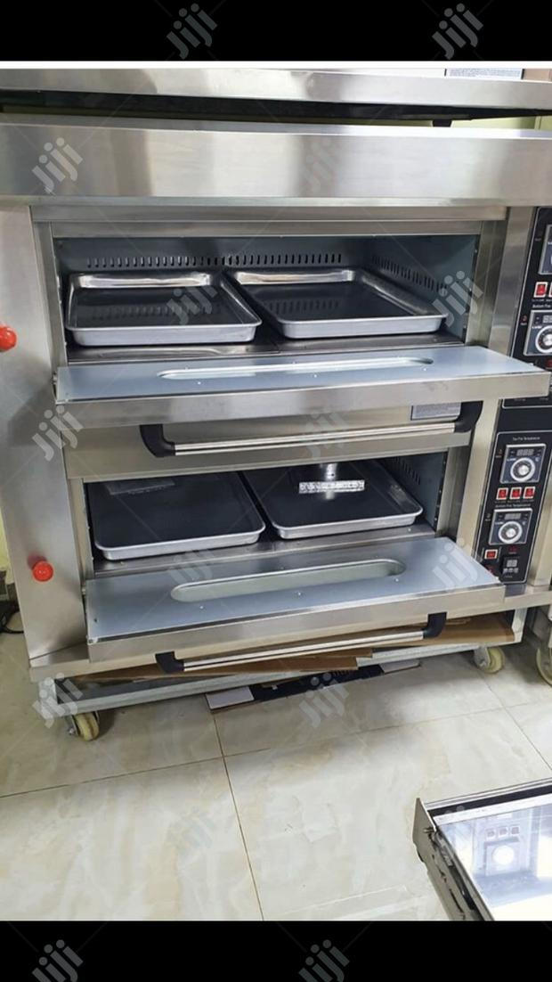 Oven 2 Deck 4Trays