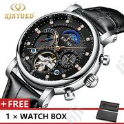 Kinyued Men Leather Wrist Watch | Watches for sale in Lagos State, Victoria Island