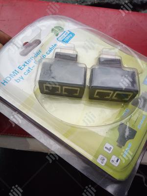Hdmi Extender Cat5e/6 Cable 30m   Accessories & Supplies for Electronics for sale in Lagos State, Ikeja
