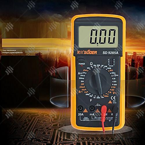 SUOER High Quality Digital Multimeter - SD9205A | Measuring & Layout Tools for sale in Ikeja, Lagos State, Nigeria