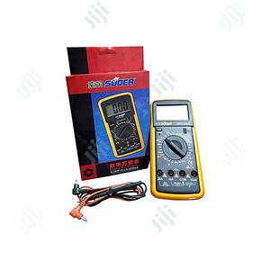 SUOER High Quality Digital Multimeter - SD9205A | Measuring & Layout Tools for sale in Lagos State, Ikeja