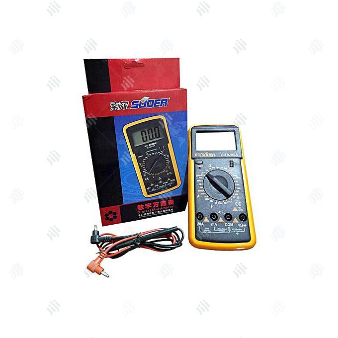 SUOER High Quality Digital Multimeter - SD9205A