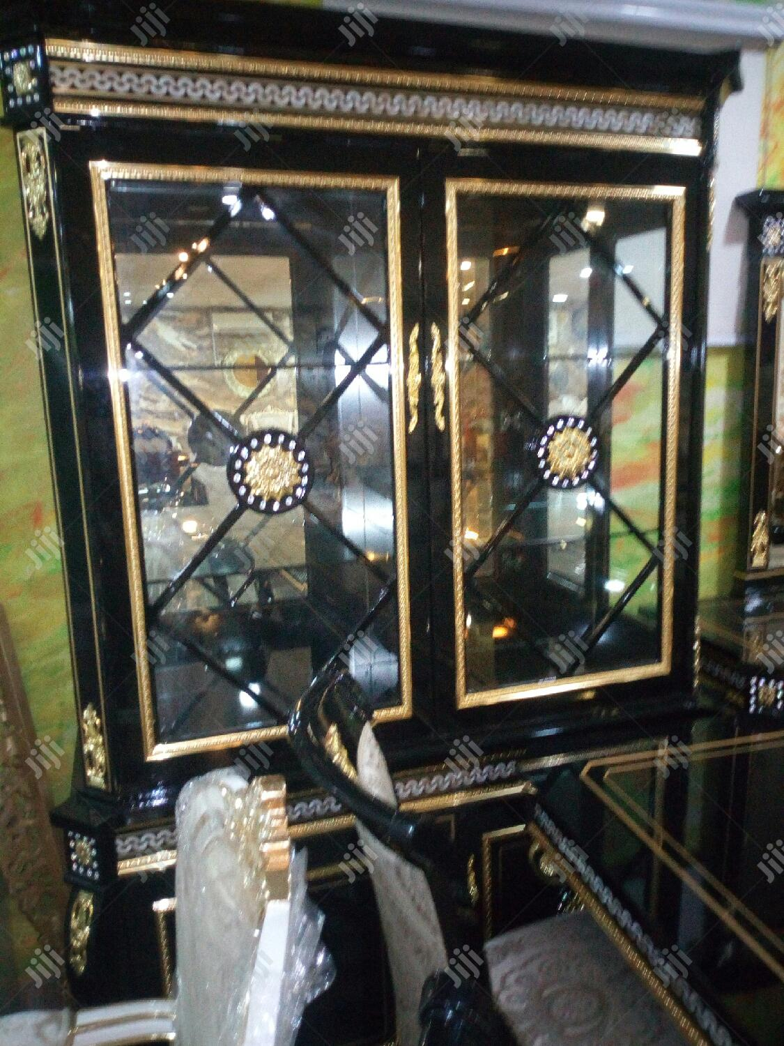 Set of Royal Wooden Dinning | Furniture for sale in Ojo, Lagos State, Nigeria