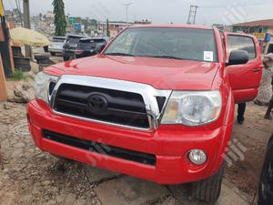 Toyota Tacoma 2009 Double Cab V6 Automatic Red | Cars for sale in Oyo State, Ibadan