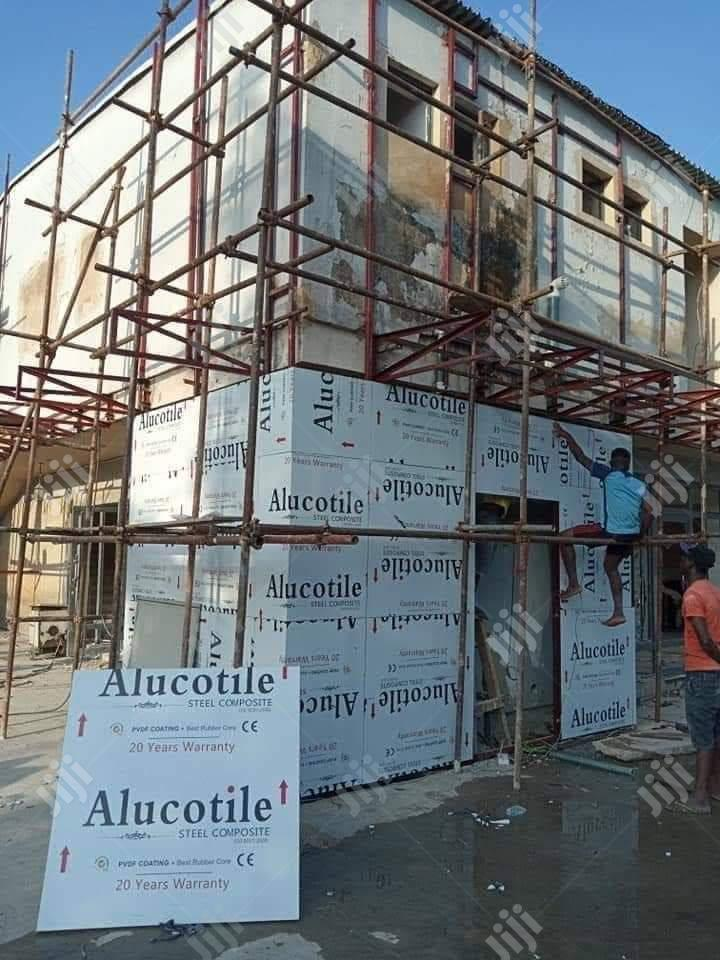 Archive: Aluco Bond Cladding And Structural Glass