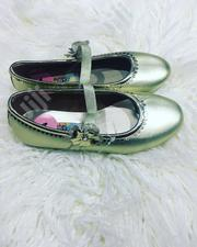 Fashionable Unique Beautiful Children Kids Girls Gold Party Shoes   Children's Shoes for sale in Lagos State, Ifako-Ijaiye