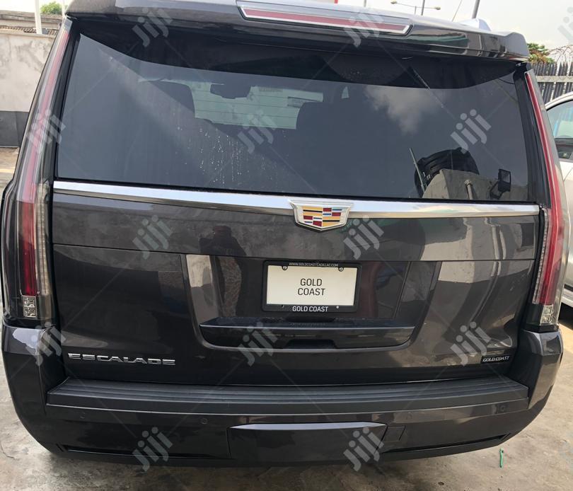 Cadillac Escalade 2016 Black | Cars for sale in Ikeja, Lagos State, Nigeria