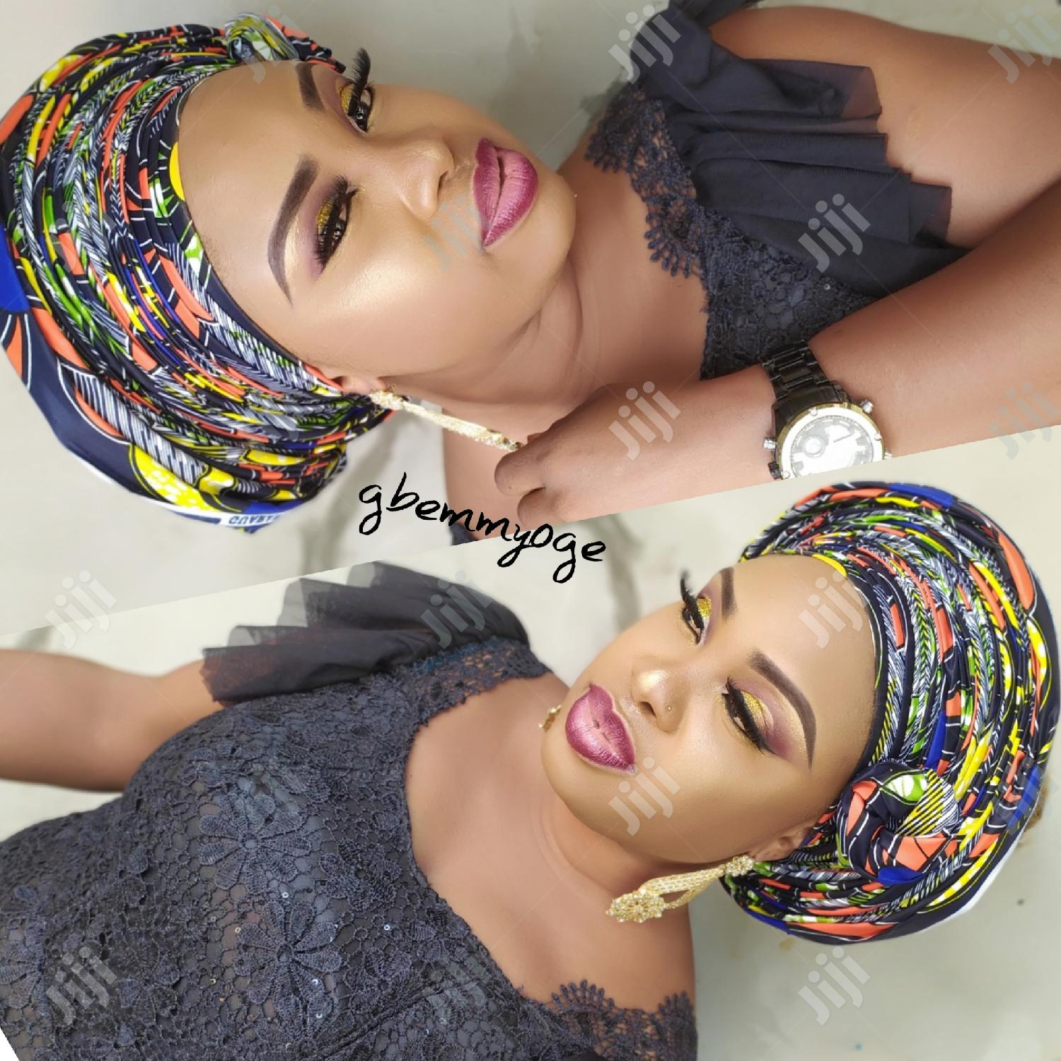 Professional Makeup And Gele Tying For All Occasion
