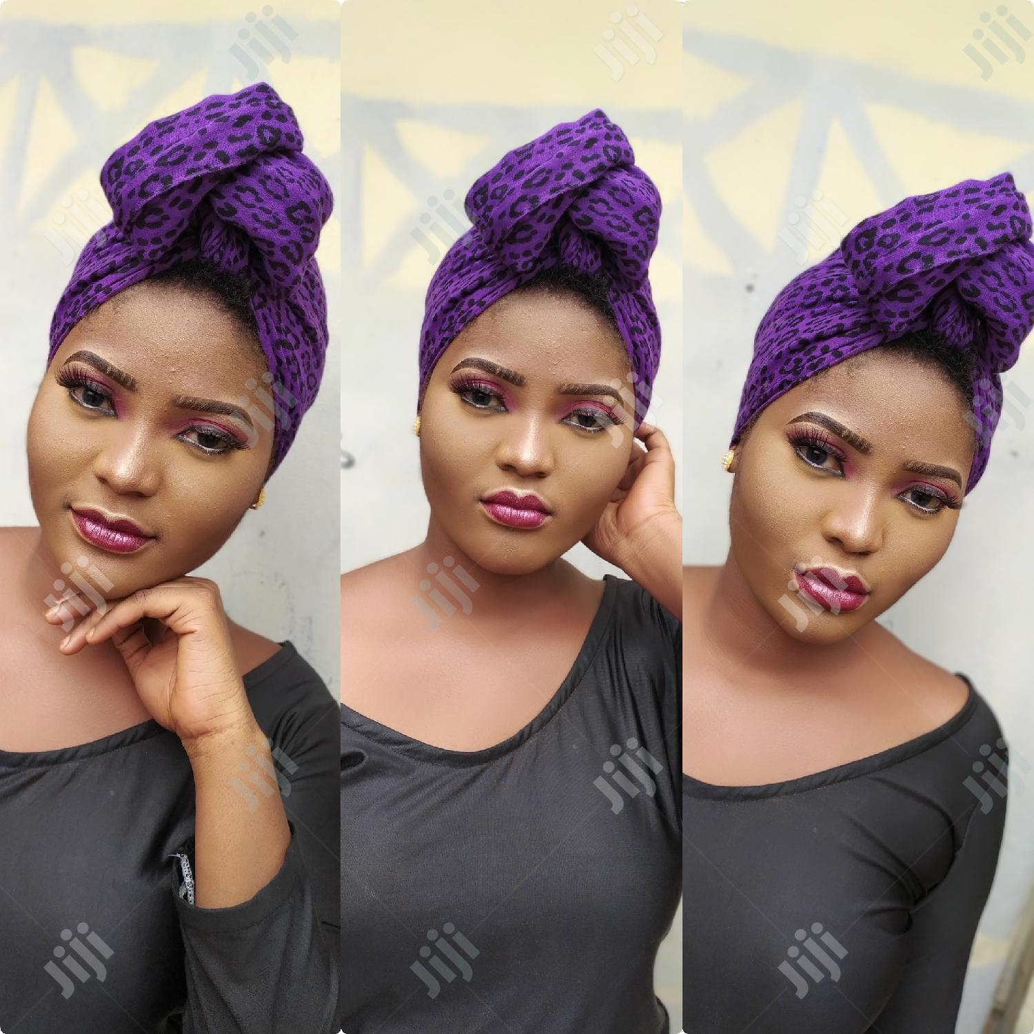 Professional Makeup And Gele Tying For All Occasion   Health & Beauty Services for sale in Ikeja, Lagos State, Nigeria
