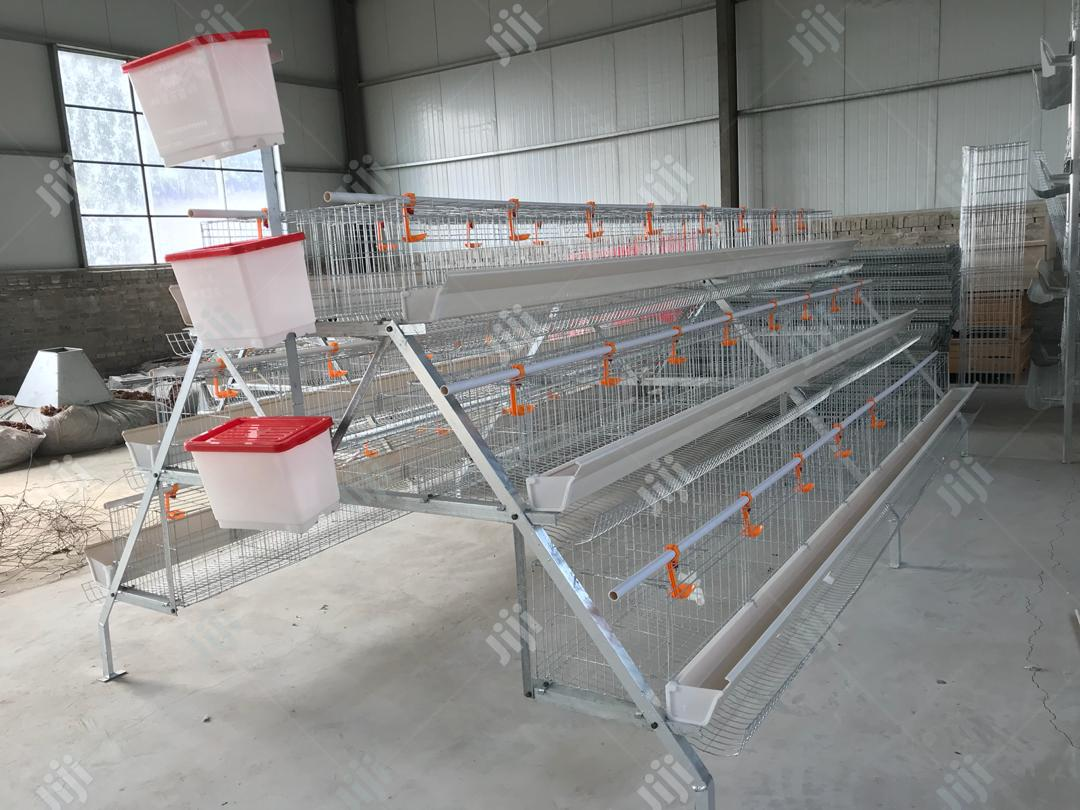 Dekoraj Farms Imported Battery Cage