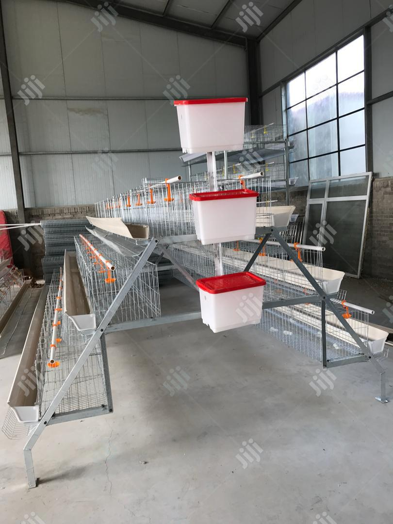 Dekoraj Farms Imported Battery Cage | Farm Machinery & Equipment for sale in Apapa, Lagos State, Nigeria
