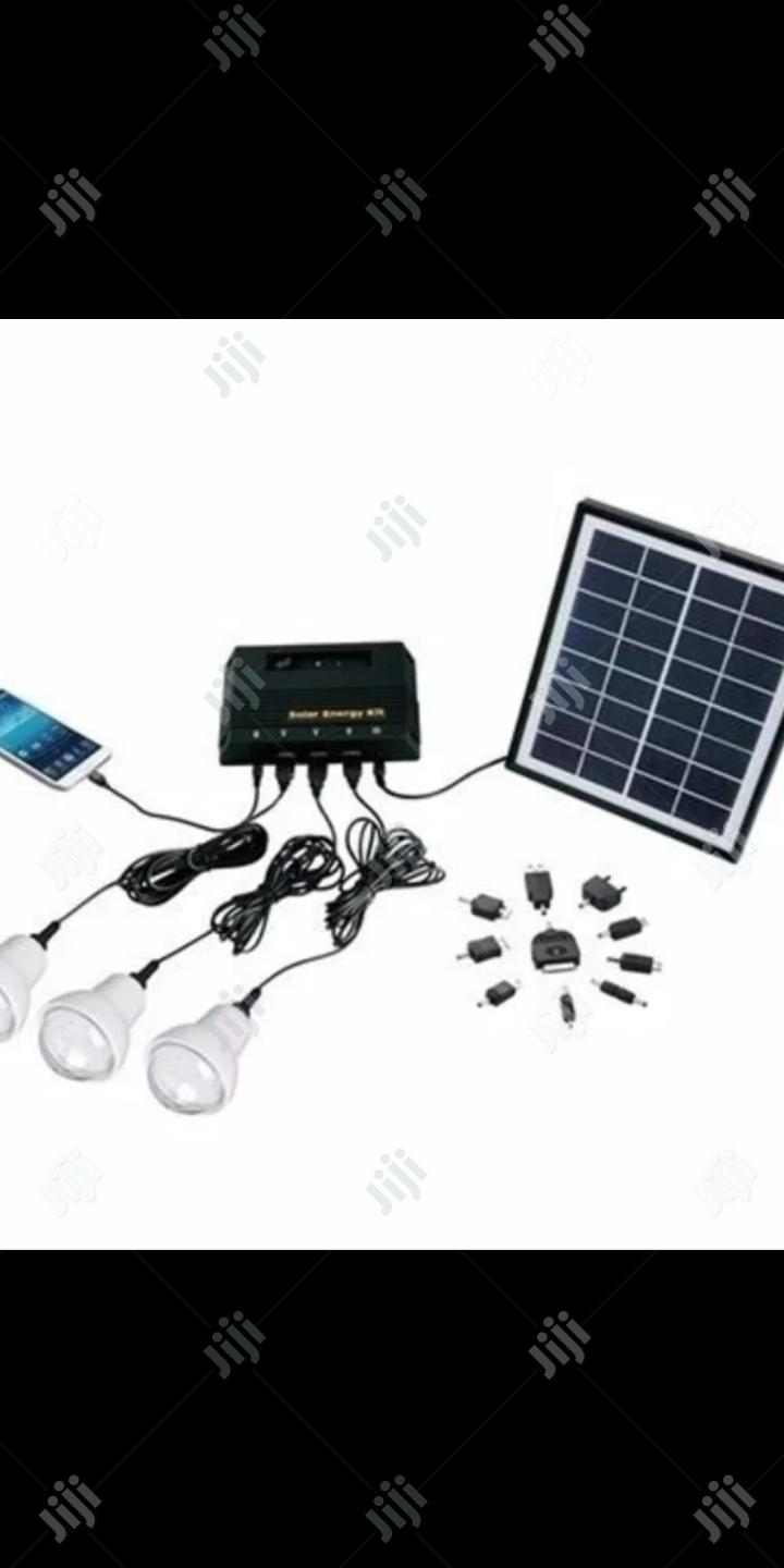 Solar Rechargeable Home Kit
