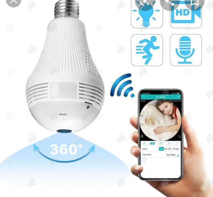 Light Bulb Camera Wifi Home Monitor Surveillance Camera