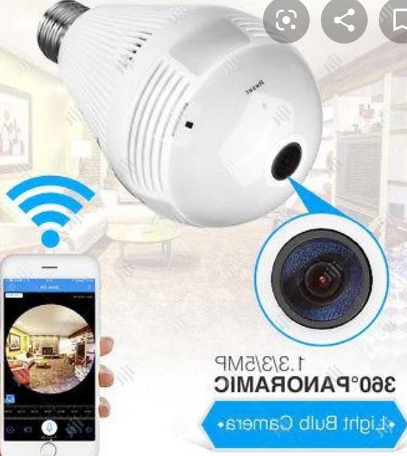 Light Bulb Camera Wifi Home Monitor Surveillance Camera | Security & Surveillance for sale in Ikeja, Lagos State, Nigeria