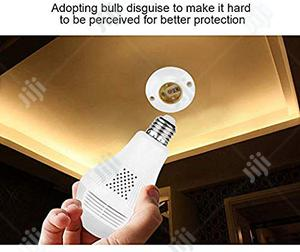 1080P WIFI Bulb Camera 360° Spy Camera for Remote Home Motio | Security & Surveillance for sale in Lagos State, Ikeja
