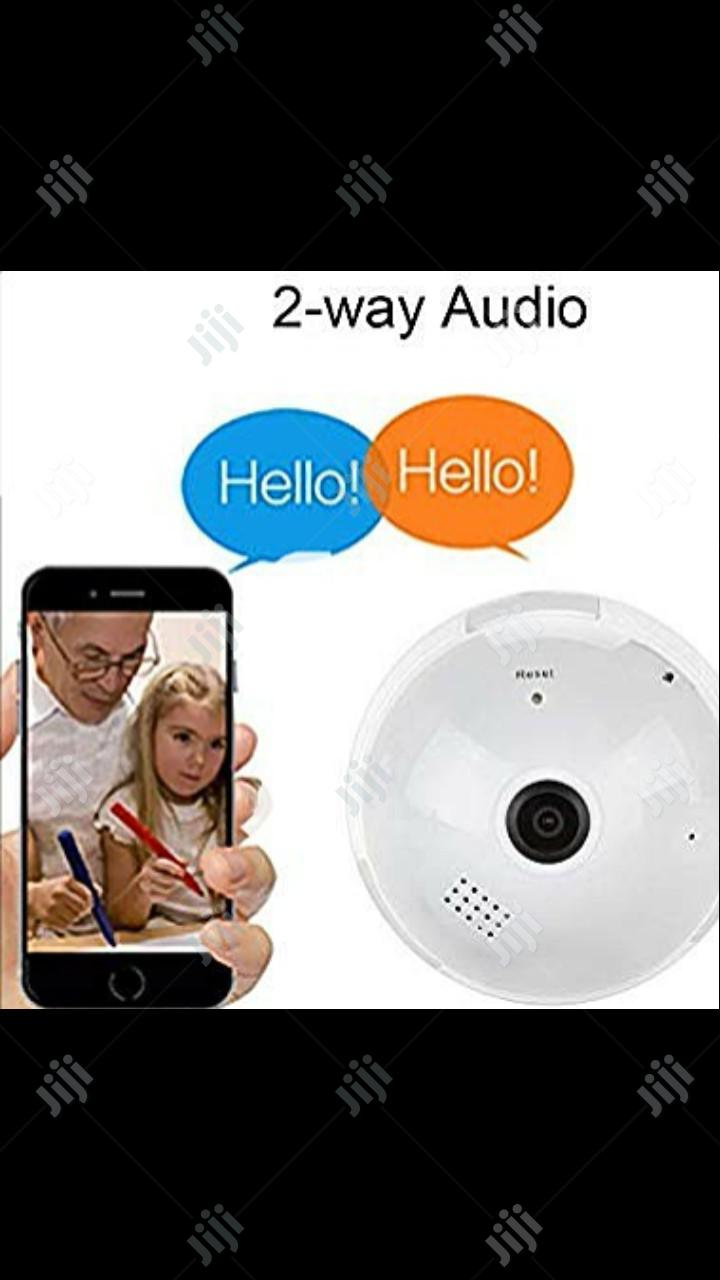 1080P WIFI Bulb Camera 360° Spy Camera For Remote Home Motion Camera | Security & Surveillance for sale in Ikeja, Lagos State, Nigeria