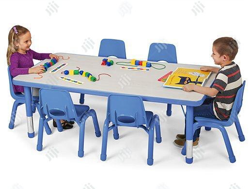 Archive: Children Training Table With Chairs