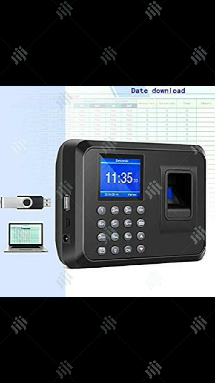 Fingerprint Attendance Biometric Password Attendance Machine | Safetywear & Equipment for sale in Ikeja, Lagos State, Nigeria